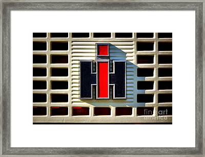 International Harvester Logo Framed Print