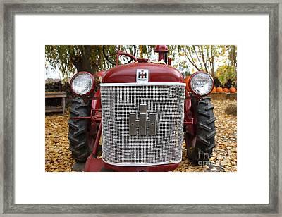 International Harvester Mccormick Farmall Cub Farm Tractor . 7d10307 Framed Print by Wingsdomain Art and Photography