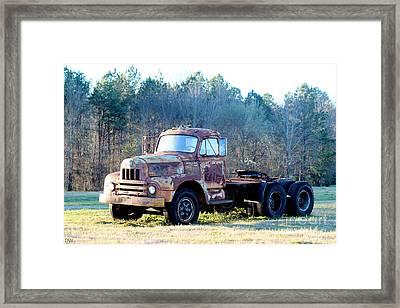 International Harvester R200 Series Truck Framed Print