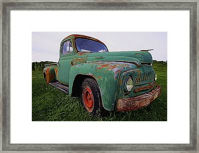 International Hauler Framed Print