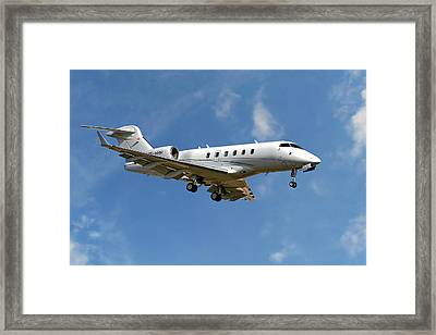 International Jet Management Framed Print