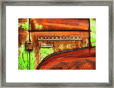 International Mcintosh  Horz Framed Print