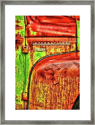 International Mcintosh Vert Framed Print