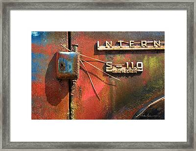 International S-110 Framed Print