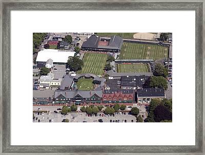International Tennis Hall Of Fame 194 Bellevue Ave Newport Ri 02840 3586 Framed Print by Duncan Pearson