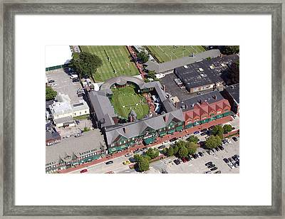 International Tennis Hall Of Fame 194 Bellevue Avenue Newport Ri 02840 3586 Framed Print by Duncan Pearson