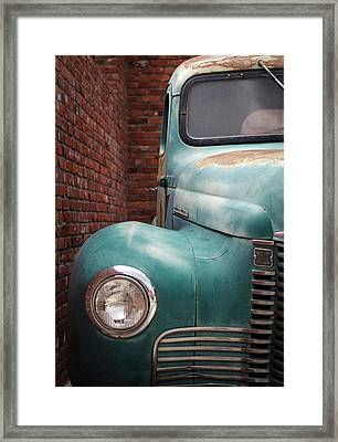 Framed Print featuring the photograph International Truck 1 by Heidi Hermes