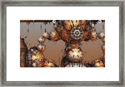 Interplanetary Travel Framed Print