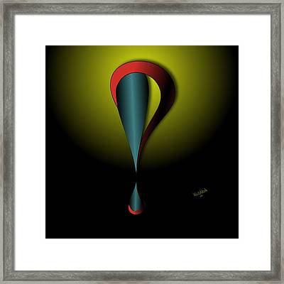 Interrofang Bang Framed Print