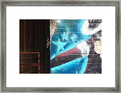 interrupted III Framed Print by Kreddible Trout