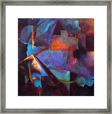 Intersect Framed Print