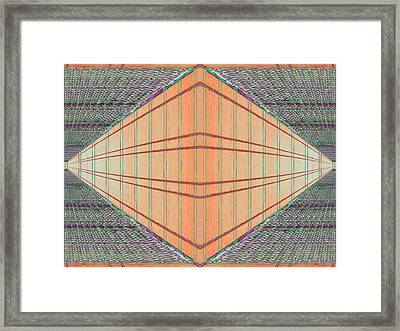 Intersect Framed Print by Tim Allen