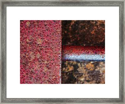 Intersected Framed Print by Tom Druin