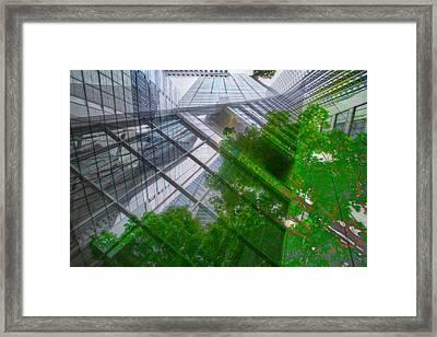 Intersection 9 Framed Print by Kevin Eatinger