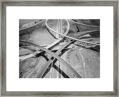 Intersections 2 Framed Print