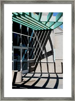 Intersections Framed Print by David S Reynolds