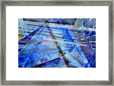 Intersections Of Perspective And Perception Framed Print