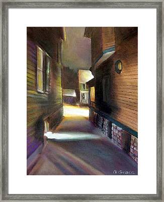 Interstice II Framed Print by George Grace
