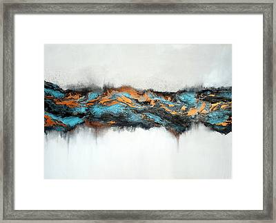 Intertwined 3 Framed Print by Holly Anderson