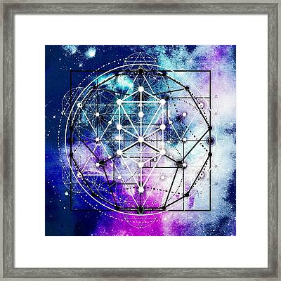 Framed Print featuring the digital art Intertwined  by Bee-Bee Deigner