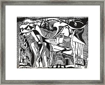 Intertwined Framed Print by Molly Williams