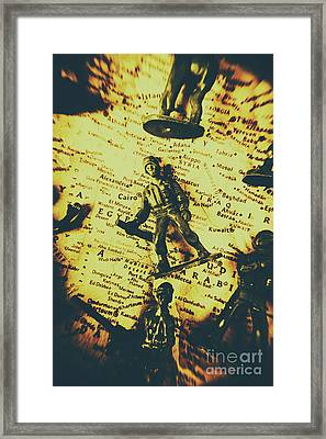 Interventionism Framed Print