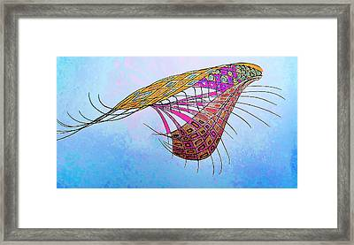 Interweave Of Consciousness Framed Print by Sheree Kennedy