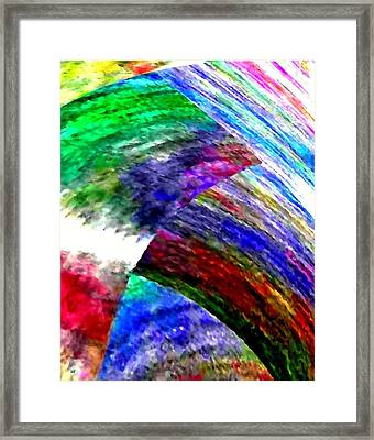 Interwoven Framed Print by Will Borden