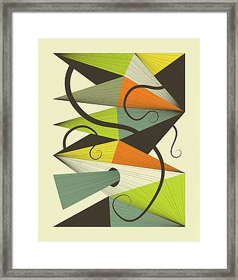 Interzone 4 Framed Print by Jazzberry Blue