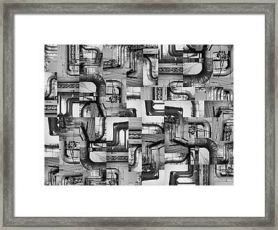 Intestins Framed Print by Gabriela Insuratelu
