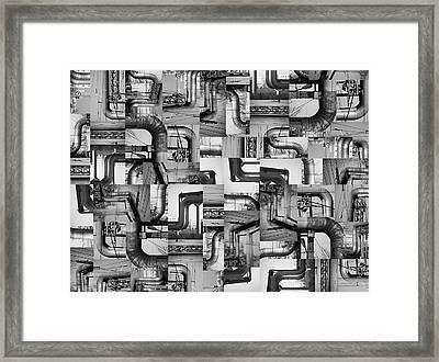 Intestins Framed Print by Gabriela Insuratelu