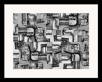 Social Systems Framed Prints