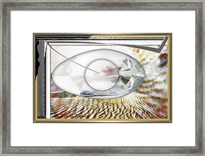 ' In The Blink Of A Eye ' Framed Print