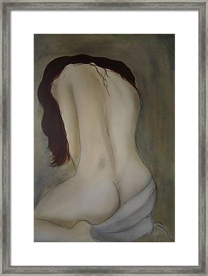Intimacy Framed Print by Bridgette  Allan