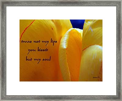 Intimacy Framed Print