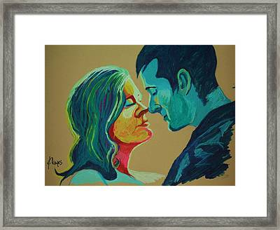 Intimate Framed Print