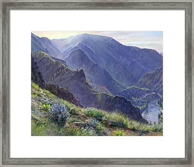 Intimate Grandeur Framed Print