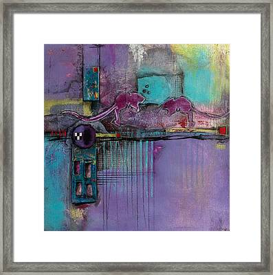 Intimate Moment Framed Print