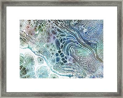 Intimate Ocean Abstract Framed Print