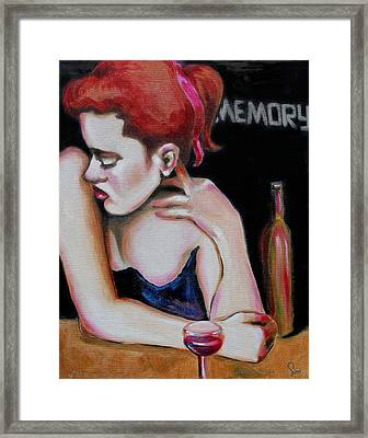 Intimate Views-memory Framed Print by Susi Franco