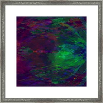 Into A Cave Of Dreams Framed Print by Mathilde Vhargon