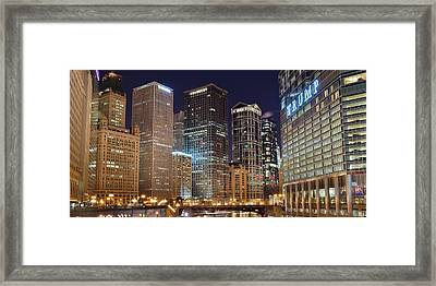 Into Chicago Framed Print by Frozen in Time Fine Art Photography