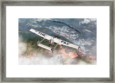 Into Dangerous Territory Framed Print by Dale Jackson