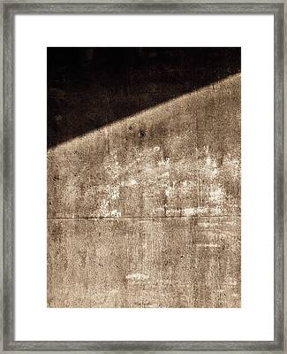 Into Darkness Framed Print by Wim Lanclus