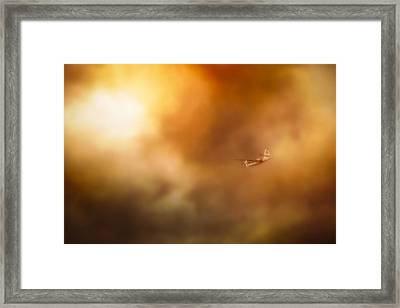 Into Hell Framed Print