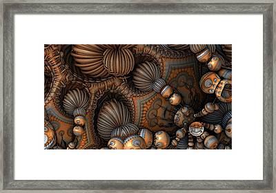 Into Or Out Of It Framed Print by Hal Tenny