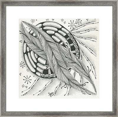 Into Orbit Framed Print by Jan Steinle