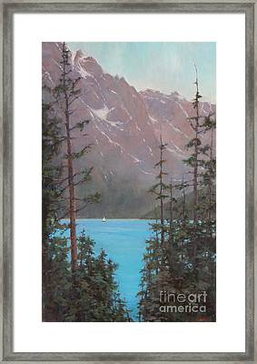 Into Summer  Framed Print by Lori  McNee