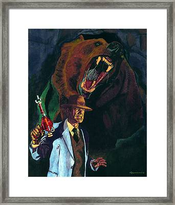Into The Abyss Framed Print by Aljohn Gonzales