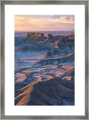 Into The Badlands Framed Print by Dustin  LeFevre